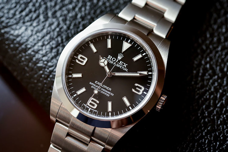 Rolex Explorer 214270 Swiss Replica Review