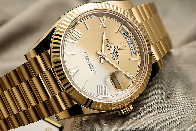 Swiss Rolex Gold Replica Watches 2020