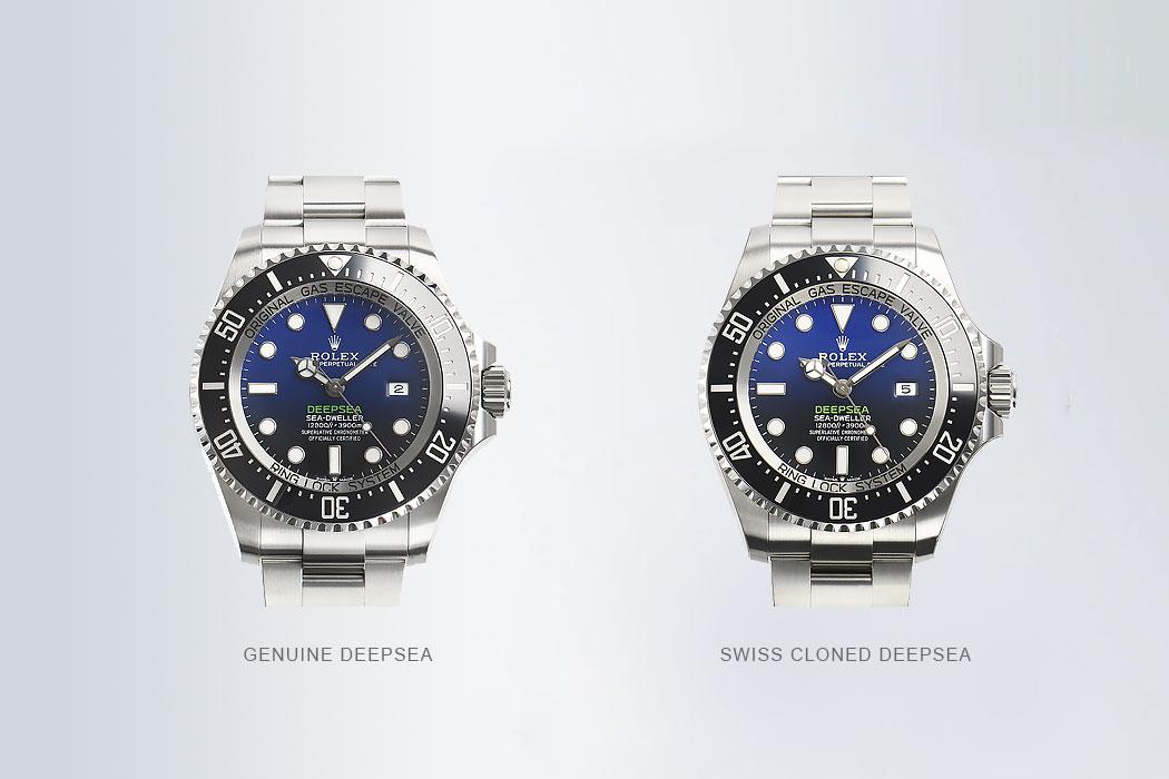 100% Identical Swiss Clone Deepsea Replica Watches