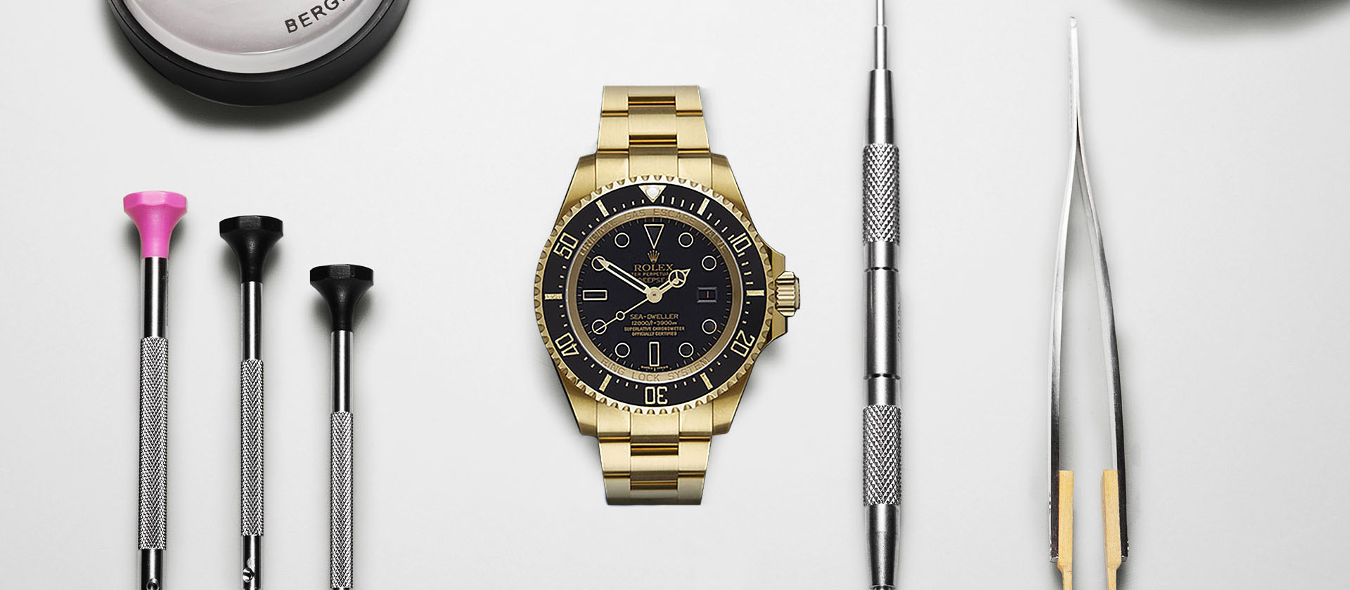 Rolex DeepSea: Solid 18k Yellow Gold & DLC Protection | Swiss Replica