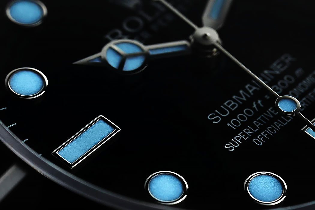 Superluminova Swiss Replica Watches
