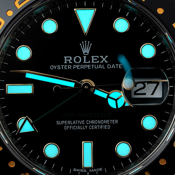 Blue Luminescence | Swiss-Made Super-Luminova Replica Rolex Watches