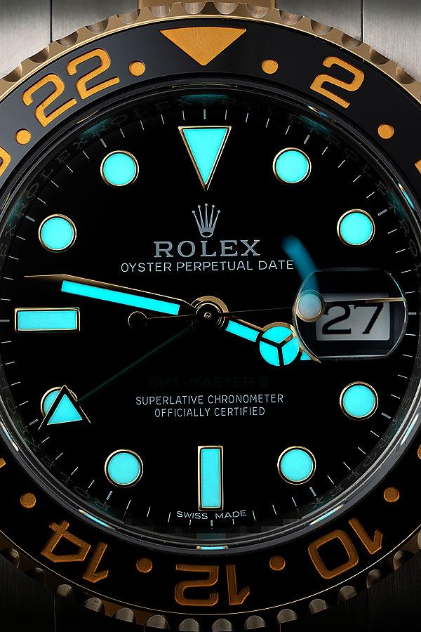 Blue Luminescence   Swiss-Made Super-Luminova Replica Rolex Watches