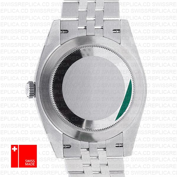 Rolex Datejust 41 Jubilee Steel 18k White Gold Swiss Replica