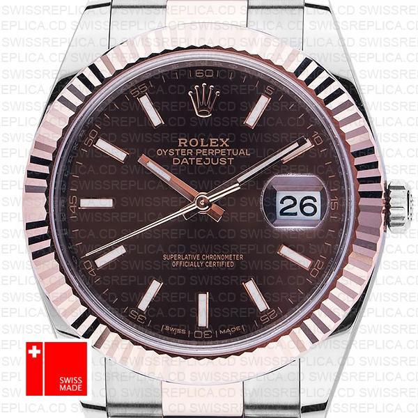 Rolex Datejust 41 Chocolate Dial
