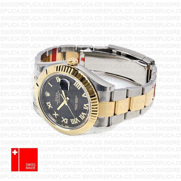 Rolex Oyster Datejust II 41mm 2-Tone 18k Yellow Gold/904L Steel Replica Watch