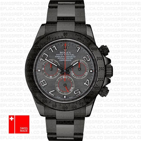 Rolex Daytona Black Dlc Lumen Arabic 116509