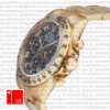 Rolex Cosmograph Daytona Blue Dial 116528 | Yellow Gold Replica Watch