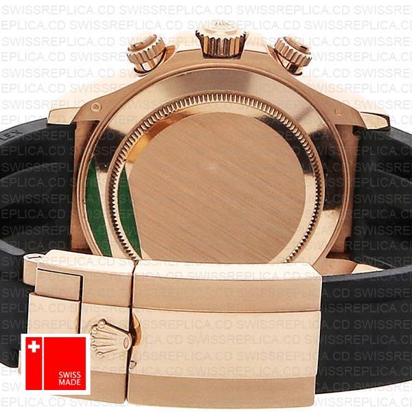 Rolex Daytona Rubber Rose Gold Ceramic 40mm 116515ln