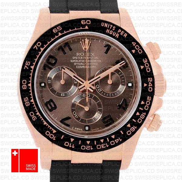 Rolex Cosmograph Daytona Chocolate Dial | Rolex Oysterflex Strap