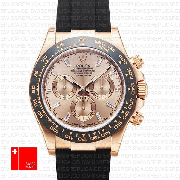 Rolex Cosmograph Daytona Oysterflex Bracelet | Diamond Replica Watch