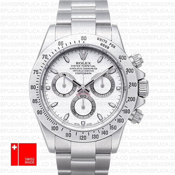 Rolex Cosmograph Daytona White Panda Dial | Best Swiss Replica Watch