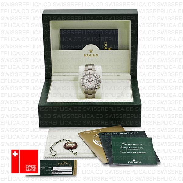 Rolex Daytona Ss White Gold Meteorite 40mm 116509