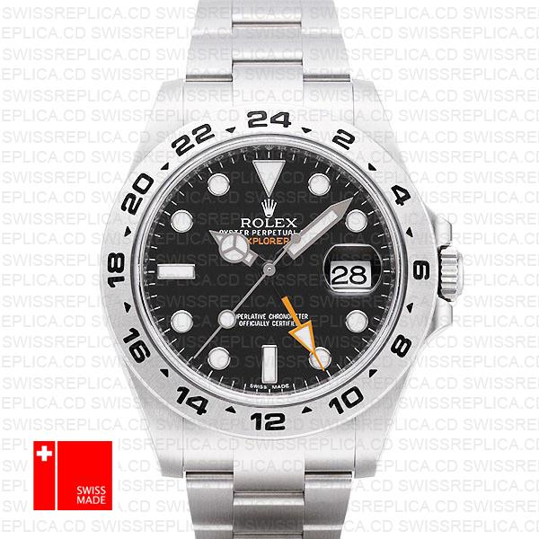 Rolex Explorer Ii Black 42mm Swiss Replica 216570