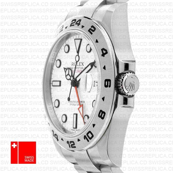 Rolex Explorer Ii White 42mm Swiss Replica 216570