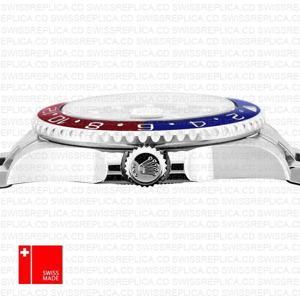 Rolex Gmt Master Ii White Gold Red Blue Ceramic 40mm 116719