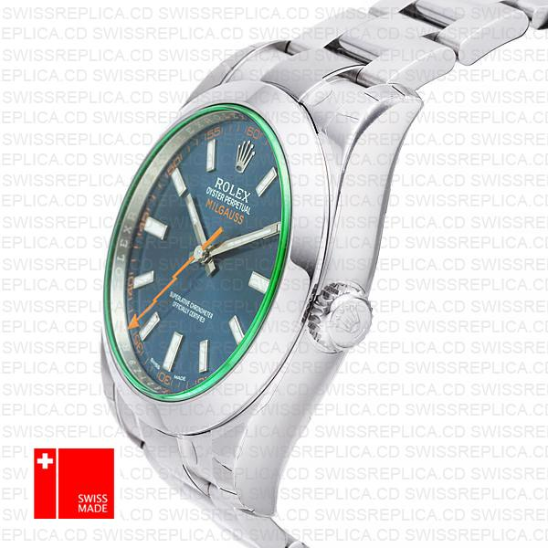 Rolex Oyster Perpetual Milgauss 116400 Swiss Replica Watch