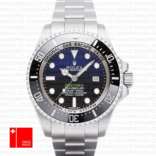 James Cameron Rolex Deepsea Sea-Dweller D-Blue Swiss Replica Watch