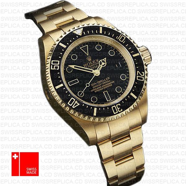 Swiss Replica Deepsea Gold