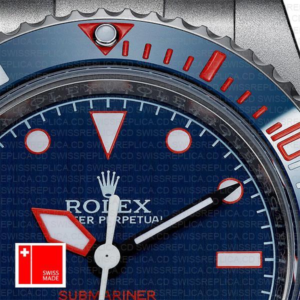 Artisans De Geneve Rough Matte Diver Rolex Submariner 904l Steel Ceramic Bezel 40mm Swiss Replica Watch