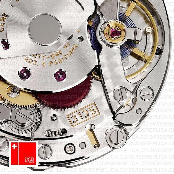 Replica Rolex 3135 Clone Swiss Movement