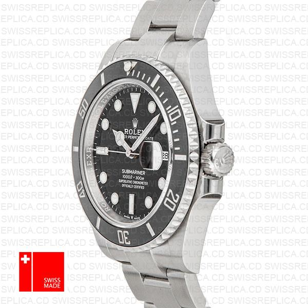 Rolex Submariner 41mm Ceramic Bezel 904l Steel 126610ln Swiss Replica