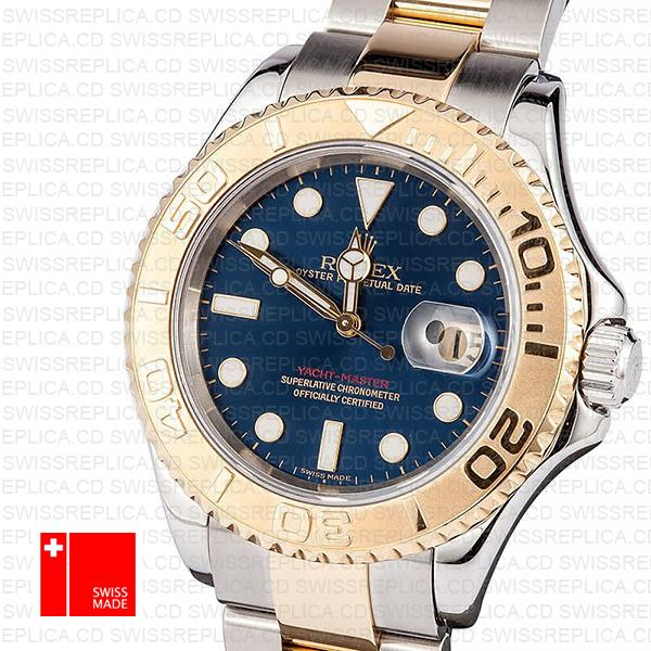 Rolex Yacht Master 2 Tone Blue 40mm 16623