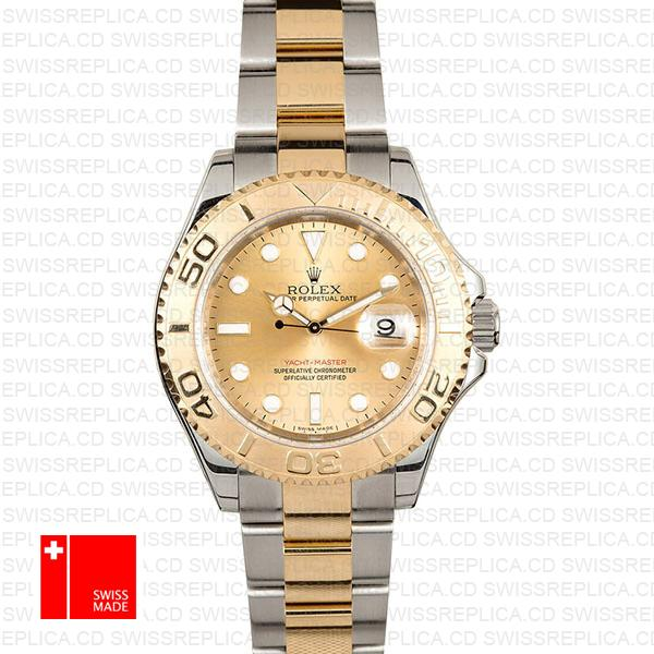 Rolex Yacht Master 2 Tone Gold Dial 40mm 16623