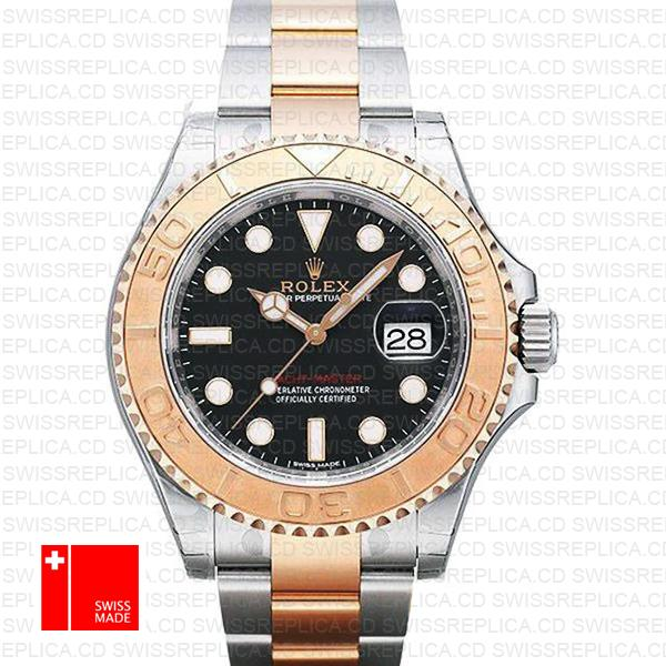 Rolex Yacht-Master 40mm 2-Tone 18k Rose Gold/904L Steel replica Watch