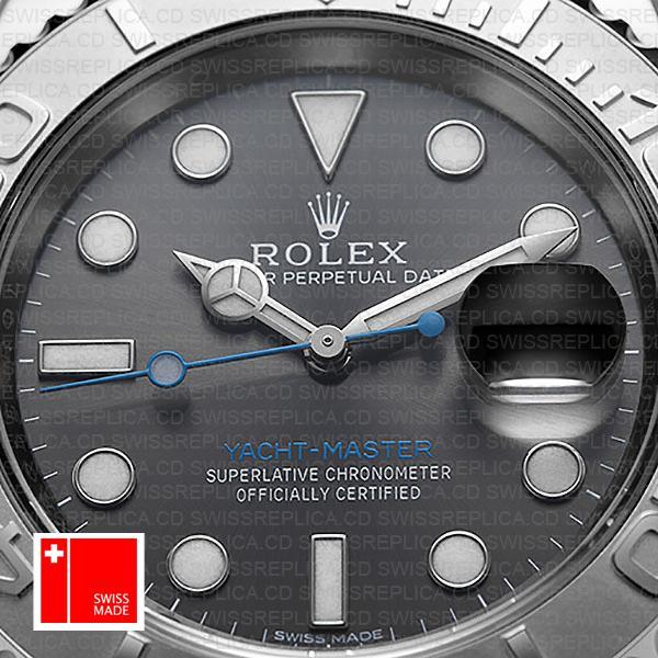 Rolex Yacht Master 2016 Ss Platinum Rhodium 116622 40mm Replica