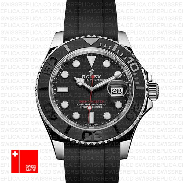 Rolex Yacht Master Ceramic Bezel Rubber Band 40mm 116622 Swiss Replica